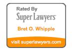 Bret Whipple Super Lawyers Badge